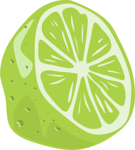 Lime Text